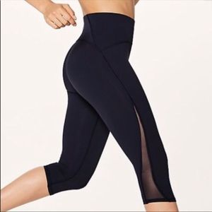 "Lululemon crop 15"" leggings"